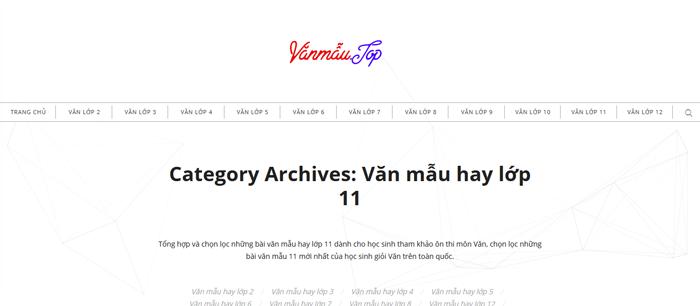 unnamed file 10 Top 10 website những bài văn mẫu hay lớp 11 mới nhất
