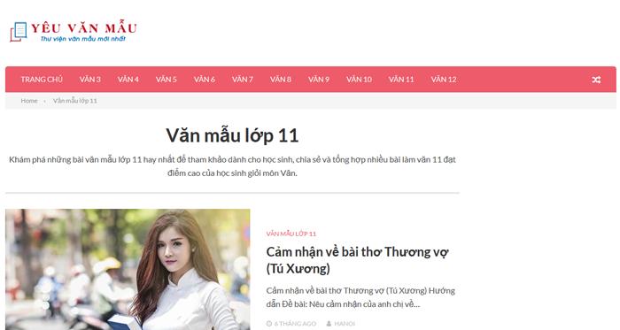 unnamed file 12 Top 10 website những bài văn mẫu hay lớp 11 mới nhất