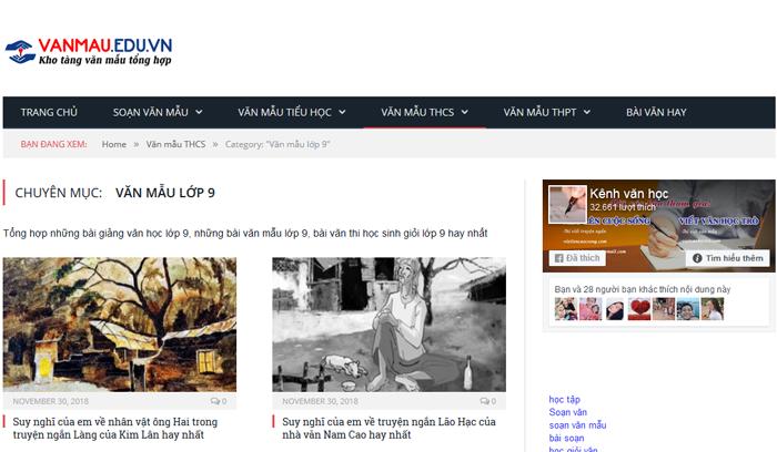 unnamed file 31 Top 10 website những bài văn mẫu hay lớp 9 mới nhất