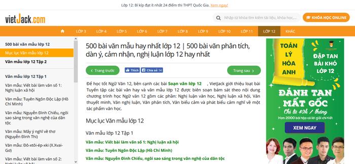 unnamed file 4 Top 10 website những bài văn mẫu hay lớp 12 mới nhất