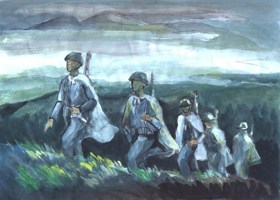 unnamed file 24 1 - Phân tích vẻ đẹp bi tráng của người lính trong bài thơ Tây Tiến của Quang Dũng
